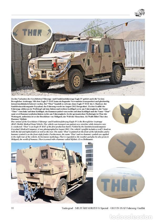 Militaria: Tankograd Fahrzeug-Graffiti GECON-ISAF Personalised Vehicle Markings during the German Mission in Af - Foto 2 - 210788965