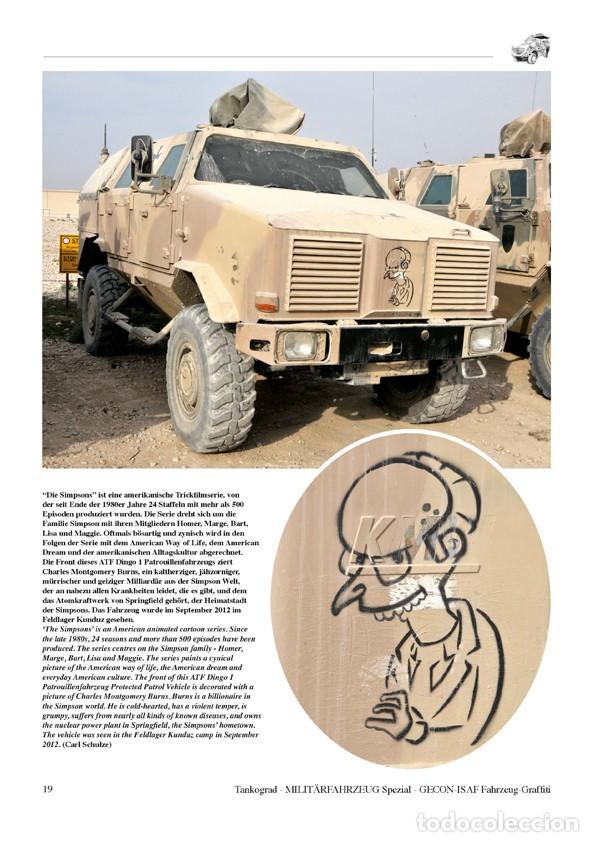 Militaria: Tankograd Fahrzeug-Graffiti GECON-ISAF Personalised Vehicle Markings during the German Mission in Af - Foto 3 - 210788965