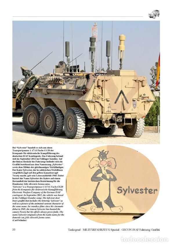 Militaria: Tankograd Fahrzeug-Graffiti GECON-ISAF Personalised Vehicle Markings during the German Mission in Af - Foto 4 - 210788965