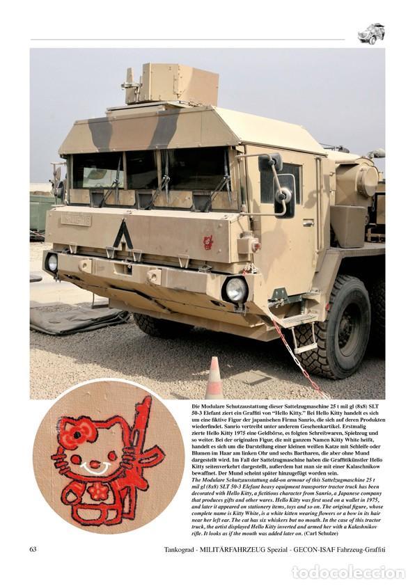 Militaria: Tankograd Fahrzeug-Graffiti GECON-ISAF Personalised Vehicle Markings during the German Mission in Af - Foto 5 - 210788965