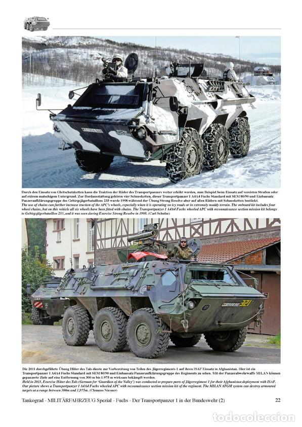 Militaria: Tankograd FUCHS The Transportpanzer 1 Wheeled Armoured Personnel Carrier in German Army Service Part - Foto 2 - 210789099