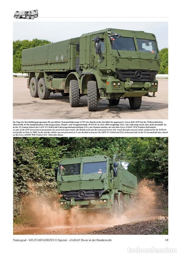 Militaria: Tankograd sGeBAF BISON Heavy Protected Recovery Vehicle - Foto 2 - 210789626