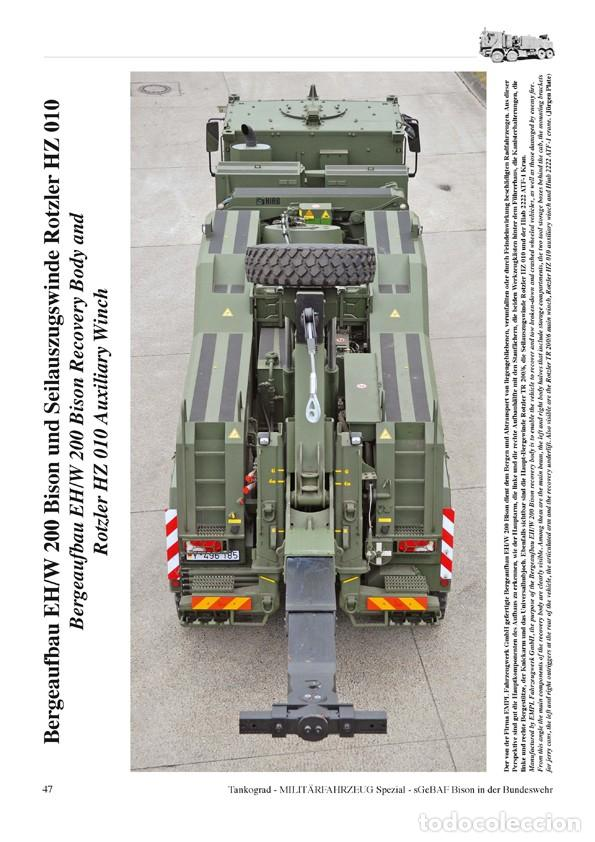 Militaria: Tankograd sGeBAF BISON Heavy Protected Recovery Vehicle - Foto 4 - 210789626