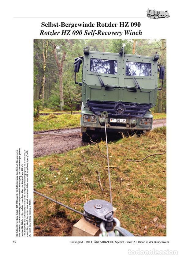 Militaria: Tankograd sGeBAF BISON Heavy Protected Recovery Vehicle - Foto 5 - 210789626