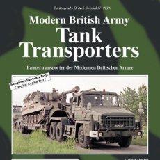 Militaria: TANKOGRAD MODERN BRITISH ARMY TANK TRANSPORTERS. Lote 210790155