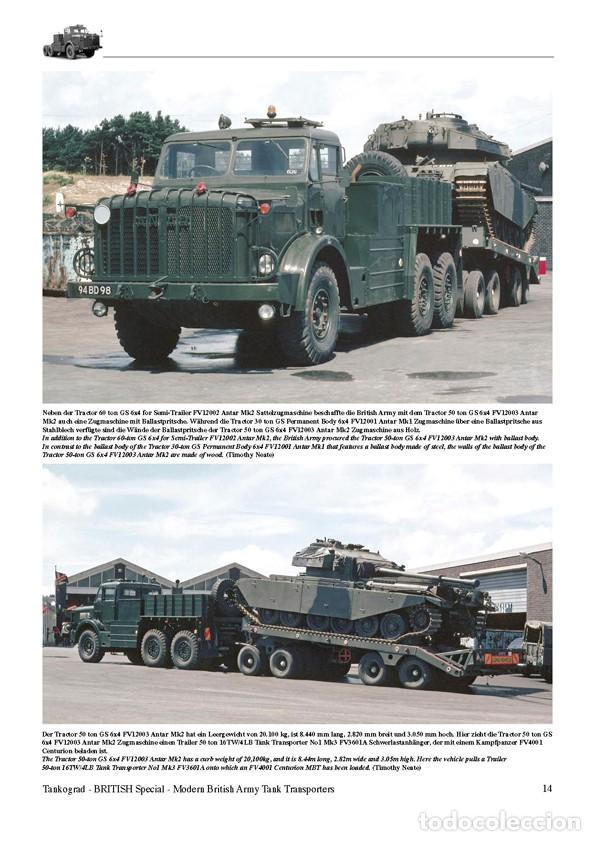 Militaria: Tankograd Modern British Army Tank Transporters - Foto 2 - 210790155