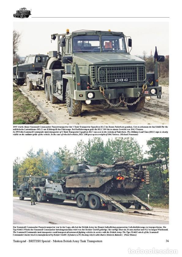 Militaria: Tankograd Modern British Army Tank Transporters - Foto 3 - 210790155