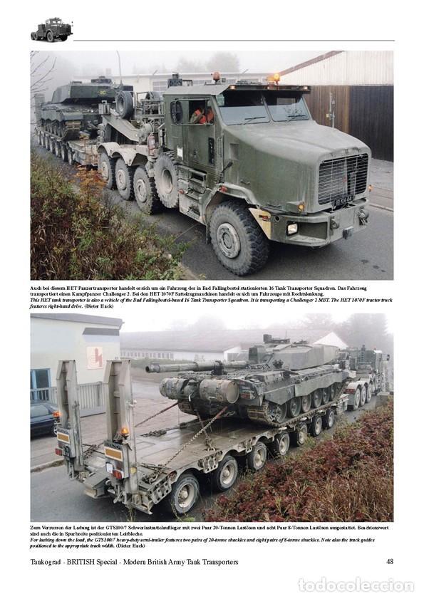 Militaria: Tankograd Modern British Army Tank Transporters - Foto 4 - 210790155