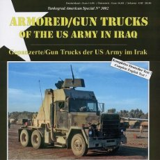Militaria: TANKOGRAD ARMOURED/GUN TRUCKS OF THE US ARMY IN IRAQ. Lote 210790622