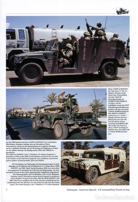 Militaria: Tankograd Armoured/Gun Trucks of the US Army in Iraq - Foto 2 - 210790622