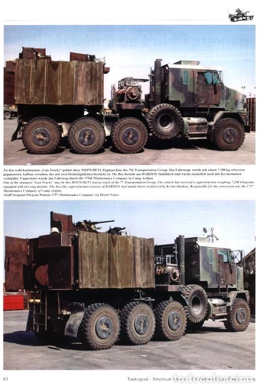 Militaria: Tankograd Armoured/Gun Trucks of the US Army in Iraq - Foto 5 - 210790622