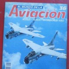 Militaria: EL MUNDO DE LA AVIACIÓN. PLANETA AGOSTINI. FASCÍCULO Nº 36. Lote 211736285