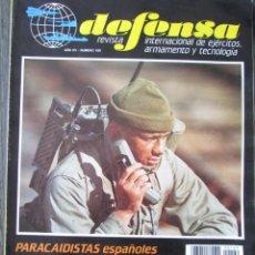 Militaria: DEFENSA. 169 1992. PARACAIDISTAS ESPAÑOLES EN FRANCIA, CRUCEROS AEGIS, LOS MORTEROS. Lote 211746082