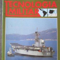 Militaria: TECNOLOGÍA MILITAR Nº 12 1987 CIAF DE LA ARMADA ESPAÑOLA. SISTEMAS DE COHETES DE ARTILLERÍA. Lote 211764138