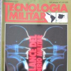 Militaria: TECNOLOGÍA MILITAR Nº 4-5 1993 BALANCE DEL PODERÍO MILITAR. Lote 211764415