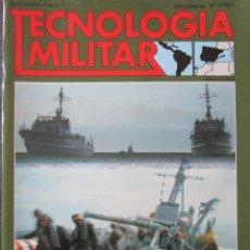Militaria: TECNOLOGÍA MILITAR Nº 5 1987 GUERRA DE MINAS, MISILES DE LANZAMIENTO A DISTANCIA SEGURA.... Lote 211764531