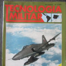 Militaria: TECNOLOGÍA MILITAR Nº 6 1990 EJÉRCITO DE TIERRA ESPAÑOL, AVIONES DE COMBATE. SIN POSTER. Lote 211764693