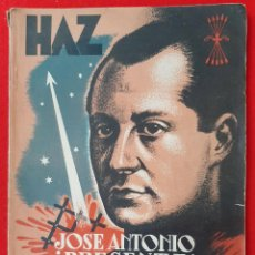 Militaria: REVISTA O LIBRO HAZ SEGUNDA EPOCA Nº 17 EXTRAORDINARIO 1940 PUBLICIDAD DECO ORIGINAL. Lote 212413477