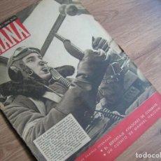 Militaria: REVISTA SEMANA. AGOSTO AÑO 1940. LUFTWAFFE. BATALLA DE NGLATERRA.. Lote 213435910