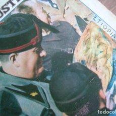 Militaria: IL MATTINO ILLUSTRATO. NOVIEMBRE DEL AÑO 1936. INVASION DE ETIOPIA. MUSSOLINI.. Lote 213436515