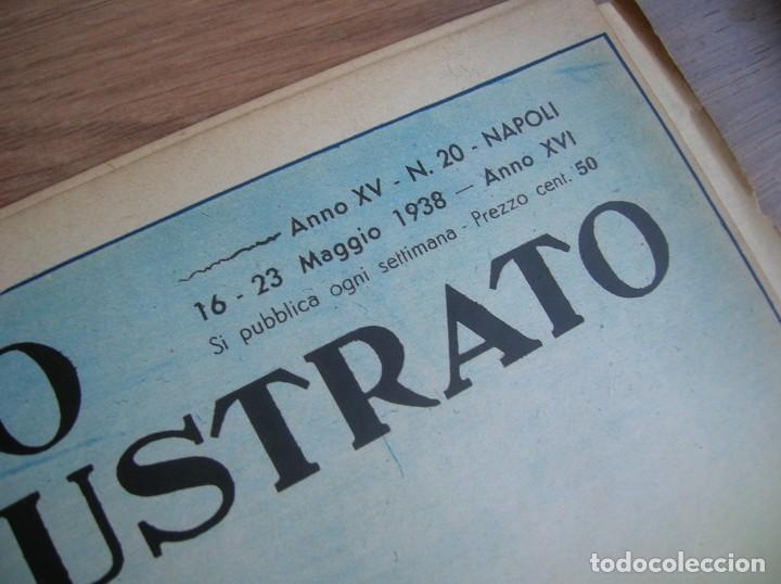 Militaria: IL MATTINO ILLUSTRATO. MAYO DEL AÑO 1938. REGIA MARINA. ITALIA FASCISTA. MUSSOLINI, - Foto 3 - 213436770
