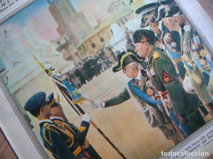 IL MATTINO ILLUSTRATO. ABRIL DE 1937. REY VICTOR MANUEL III DE ITALIA. MUSSOLINI. FASCISMO. (Militar - Revistas y Periódicos Militares)