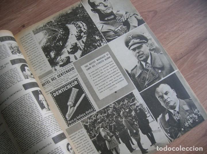 Militaria: REVISTA SEMANA. JULIO DE 1940. BATALLA DE INGLATERRA. LUFTWAFFE. - Foto 3 - 213509823