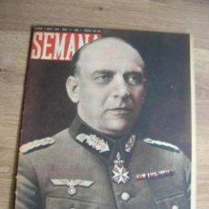 Militaria: REVISTA SEMANA MAYO DE 1940. WEHRMACHT. GENERAL VON FALKENHORST.. Lote 213510027