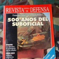 Militaria: REVISTA ESPAÑOLA DE DEFENSA N° 76 500 AÑOS DEL SUBOFICIAL. CASCOS AZULES.. Lote 213537731