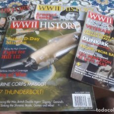 Militaria: REVISTAS ESPECIALIZADAS II GUERRA MUNDIAL WWII HISTORY. Lote 214008921