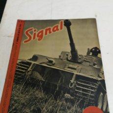 Militaria: REVISTA SIGNAL. 2º NUMERO DE MAYO DE 1943. SP Nº 10. SEGUNDA 2ª GUERRA MUNDIAL. TANQUE TIGRE TIGER. Lote 214233320