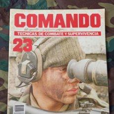 Militaria: COMANDO TÉCNICAS DE COMBATE Y SUPERVIVENCIA N° 23 DESERT EAGLE. EMBOSCADA. Lote 215500658
