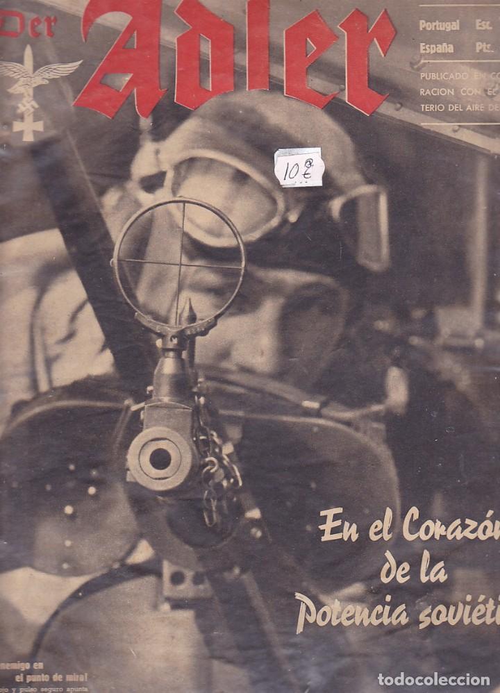 REVISTA ADLER 7 OCTUBRE 1941 (Militar - Revistas y Periódicos Militares)