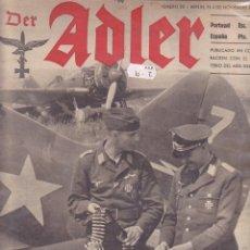 Militaria: REVISTA ADLER 4 NOVIEMBRE 1941. Lote 215919676