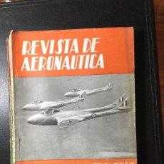 Militaria: REVISTA DE AWRONAUTICA 1954 , MILITAR , GUERRA. Lote 216692860