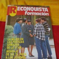 """Militaria: REVISTA """"RECONQUISTA FORMACIÓN"""" N°2. Lote 216703448"""