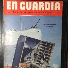 Militaria: REVISTA EN GUARDIA , PARA DEFENSA DE LAS AMÉRICAS .. Lote 216707197