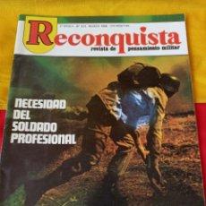 "Militaria: REVISTA "" RECONQUISTA"" N° 423. 1986. Lote 216708551"