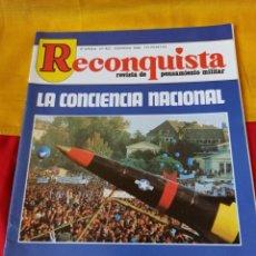 "Militaria: REVISTA "" RECONQUISTA"" N° 422. 1986. Lote 216708652"