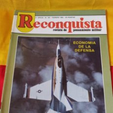 "Militaria: REVISTA "" RECONQUISTA"" N°391. 1983. Lote 216709902"