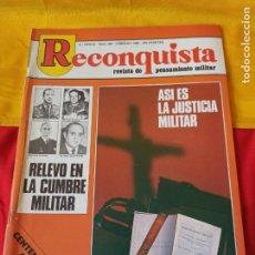 "Militaria: REVISTA "" RECONQUISTA"" N°380. 1982. Lote 216713165"