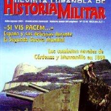 Militaria: REVISTA ESPAÑOLA DE HISTORIA MILITAR, Nº13/14. SI VIS PACEM…ESPAÑA Y SUS DEFENSAS HM-149. Lote 216764086