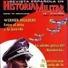 Militaria: REVISTA ESPAÑOLA DE HISTORIA MILITAR, Nº15. WERNER MOLDERS HM-150. Lote 246688210