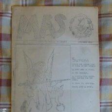Militaria: MAS REVISTA FALANGE CENTURIA BATALLA DE LEPANTO NOVIEMBRE 1946. Lote 217023533