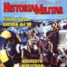 Militaria: REVISTA ESPAÑOLA DE HISTORIA MILITAR, Nº96-97. TROFEOS DE LA GUERRA DEL 98 HM-214. Lote 246894300