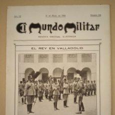 Militaria: 31 MAYO 1914 EL MUNDO MILITAR REVISTA DECENAL. Lote 217944501