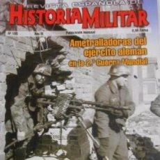 Militaria: REVISTA ESPAÑOLA DE HISTORIA MILITAR, Nº106 AMETRALLADORAS DEL EJERCITO ALEMAN EN LA 2ª G.M. HM-222. Lote 218674685