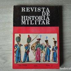 Militaria: REVISTA DE HISTORIA MILITAR - AÑO XVIII - 1974 - NUM. 37. Lote 218703590