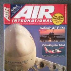 Militaria: REVISTA AVIONES AIR INTERNATIONAL. Lote 219580732