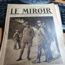 Militaria: LOTE DE 50 REVISTAS LE MIROIR DESDE 1914 A 1918 1 GUERRA MUNDIAL. Lote 219826445